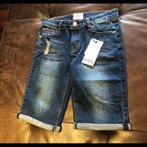 Hudson Kids Girls size 16 Denim Shorts